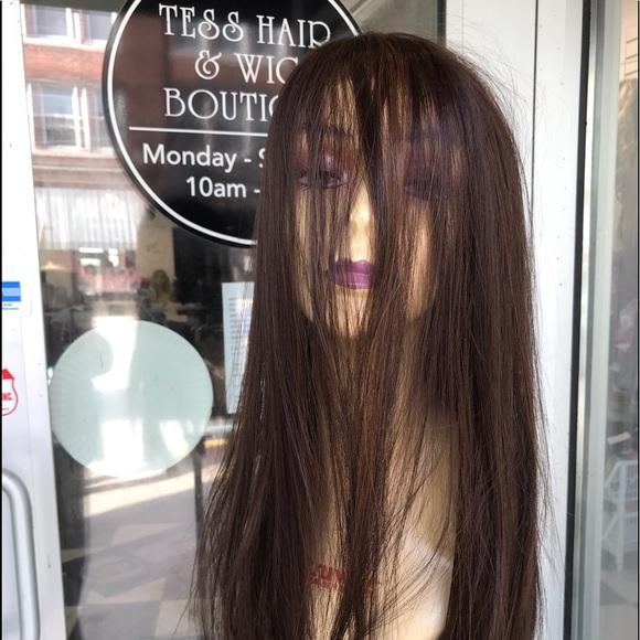 Accessories - Wig Long 360 Fullcap Wig 24 inch Long warm Brown